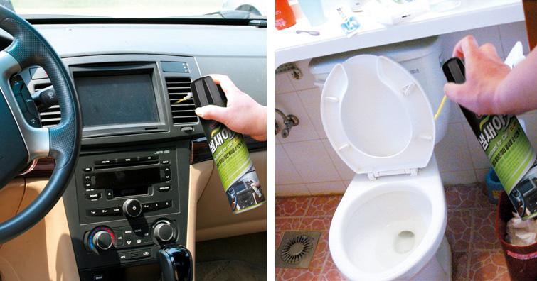 chất xịt khử mùi xe hơi nabakem CL-204